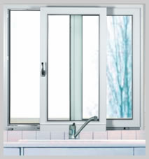 Schiebefenster sind die idealen probleml ser wenn z b for Schiebefenster kunststoff
